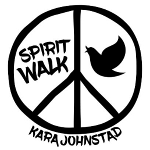 single SPIRIT WALK - words and music by Kara Johnstad, available at iTunes and CDbaby.com