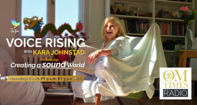 Voice Rising Radio Show with Snatam Knaur<br>hosted by Kara Johnstad